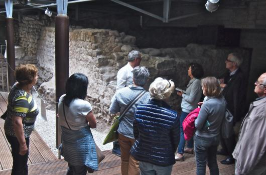 Medieval excavations, Wendelstein Castle