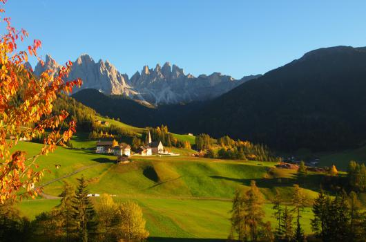 St. Magdalena and the Dolomites